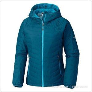 COLUMBIA Oyanta Trail HD Women's Hooded Jacket; L